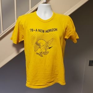 Vintage 1978 New Horizons Medium T-Shirt